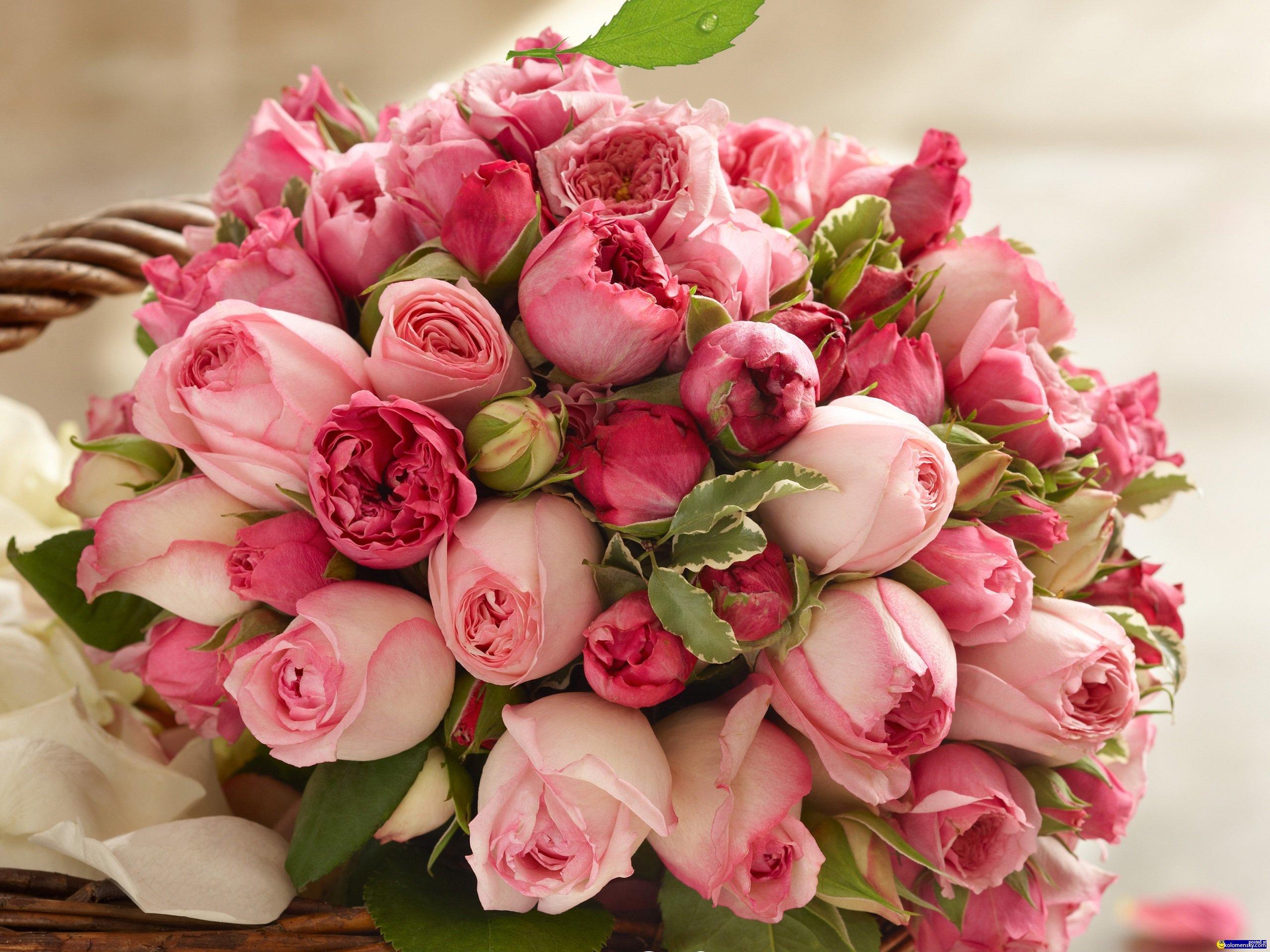 шикарный букет цветов картинка
