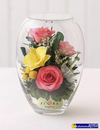 Красивые цветы розы в вашем интерьере и уход за ними.