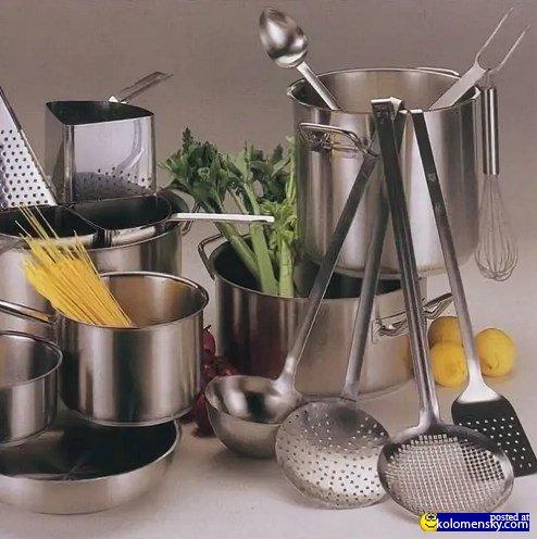 Кухонная посуда: правильно эксплуатируем и ухаживаем