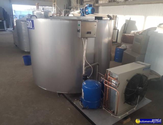Ванны-охладители молока и их использование на производстве.